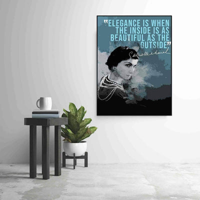 Coco Chanel Quote - PICTA DESIGN