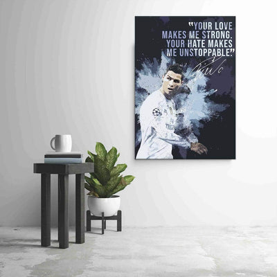 Cristiano Ronaldo Quote - PICTA DESIGN