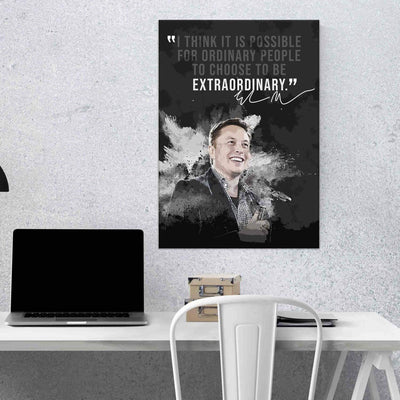 Elon Musk Quote I - PICTA DESIGN