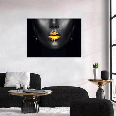 Golden Lips - PICTA DESIGN