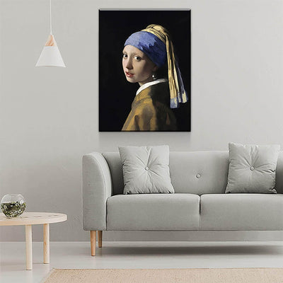 Johannes Vermeer girl with a Pearl Earring - PICTA DESIGN