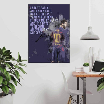 Lionel Messi Quote - PICTA DESIGN