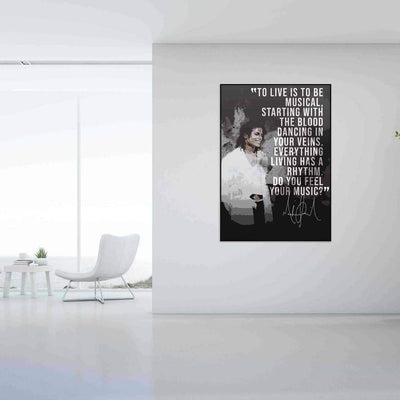 Michael Jackson Quote - PICTA DESIGN