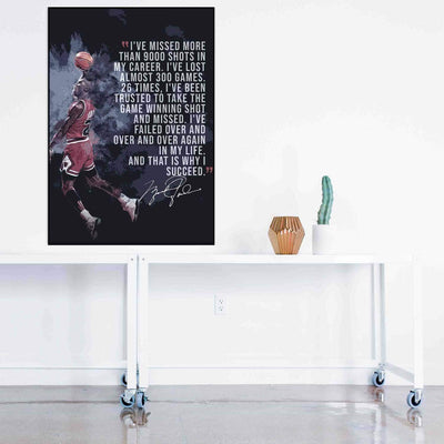 Michael Jordan Quote - PICTA DESIGN