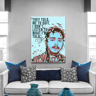 Post Malone Quote - PICTA DESIGN