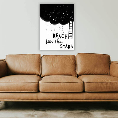 Picta Design motivational Reach for the Stars