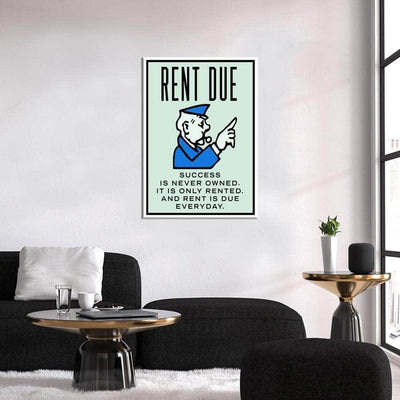 Rent is due - PICTA DESIGN