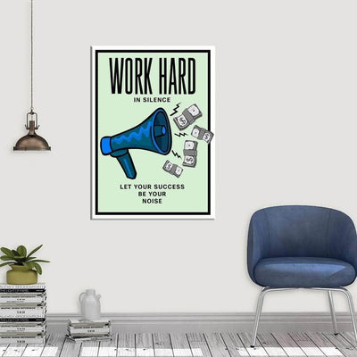 Work Hard - PICTA DESIGN