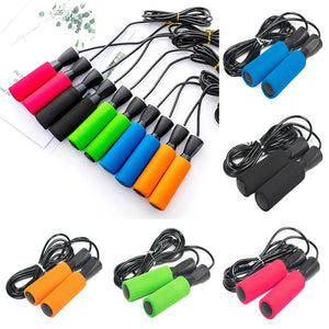 Unisex Speed Skipping Jump Rope Adjustable Sports Lose Weight Exercise Gym Crossfit Fitness Workout Equipment Skipping Wire D30