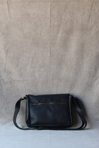 steffie satchel in black