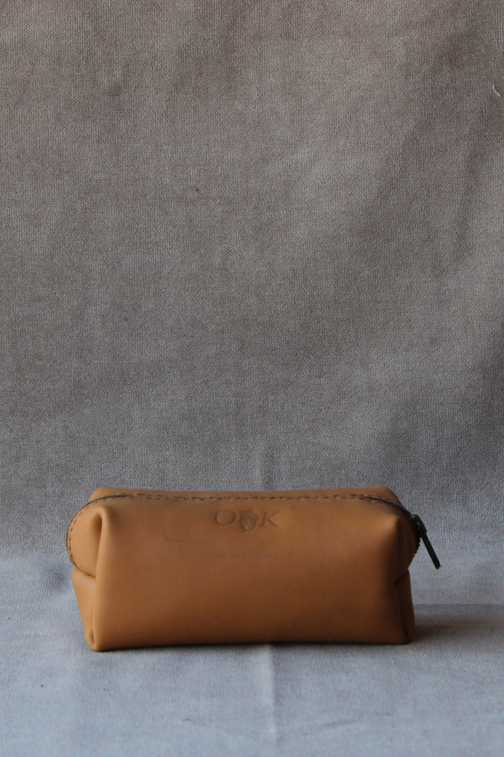 utility case in tan