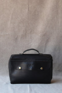 photo of the bible bag in black