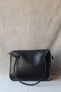 sandra business bag with bow in black