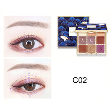Load image into Gallery viewer, catkin  seasonal 9 Color eyeshadow #C02
