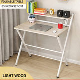 Foldable Laptop Table with Shelf