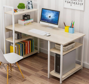 Computer Study Table with CPU Shelf