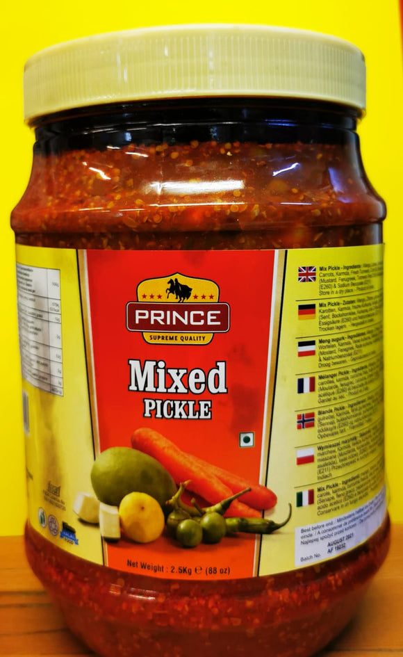 Prince Mixed Pickle 2.5kg