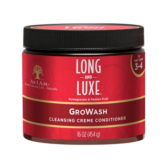 As I am Long & Luxe gro wash