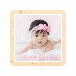 Baptism Photo Cookies - The Sugar Cookie