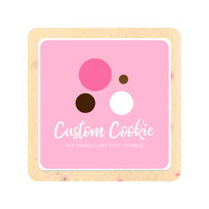 Custom Cookie Order - The Sugar Cookie