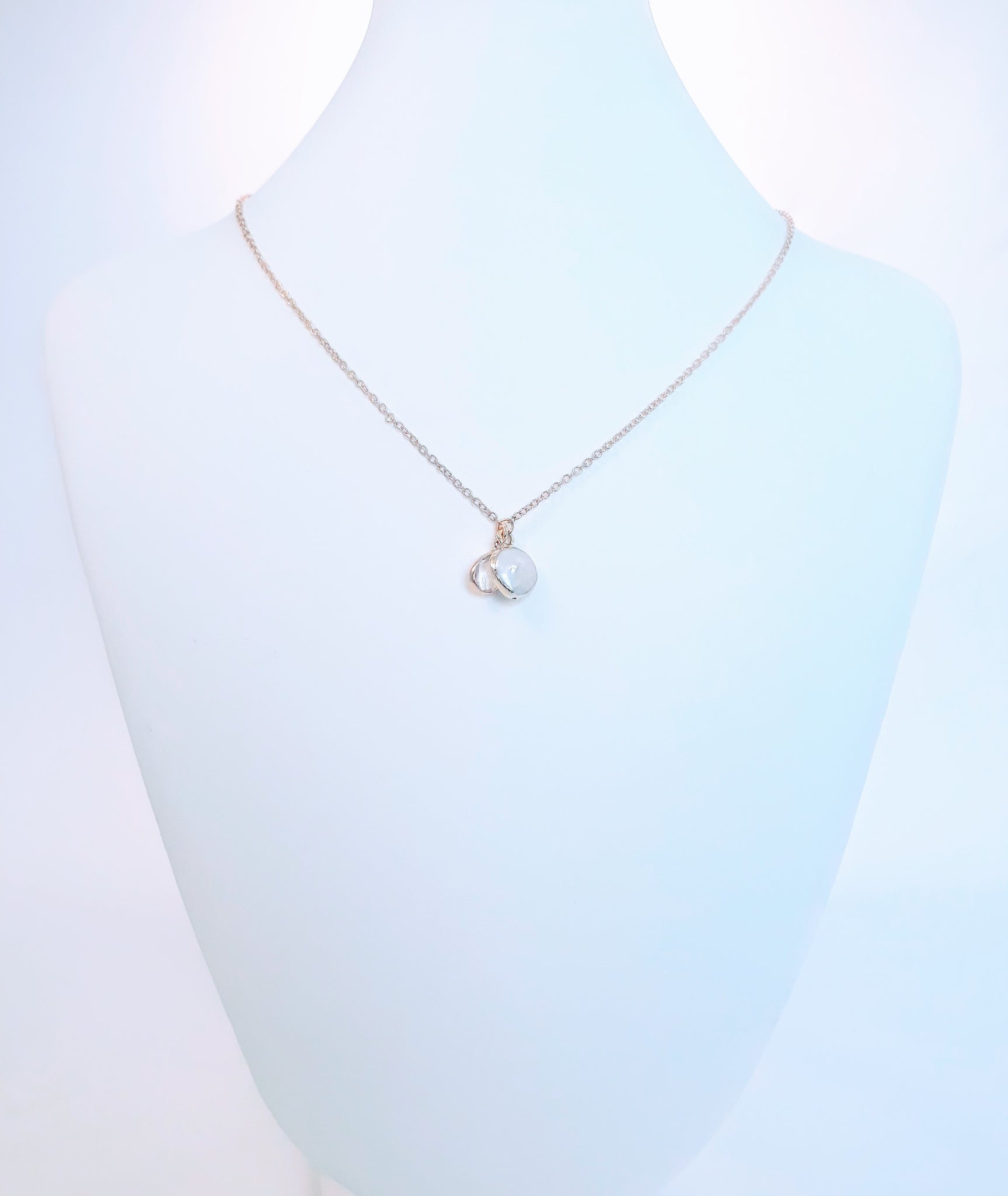 The Dainty Pearl Pendant