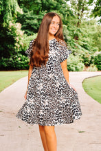 Load image into Gallery viewer, Take the Risk Dress - Leopard