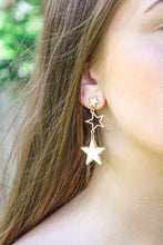 Load image into Gallery viewer, Star Drop Earrings