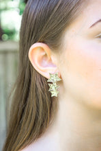 Load image into Gallery viewer, Glitter Star Cluster Earrings