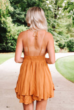 Load image into Gallery viewer, Fun & Flirty Dress - Camel