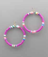 Load image into Gallery viewer, Rubber Bead Earrings
