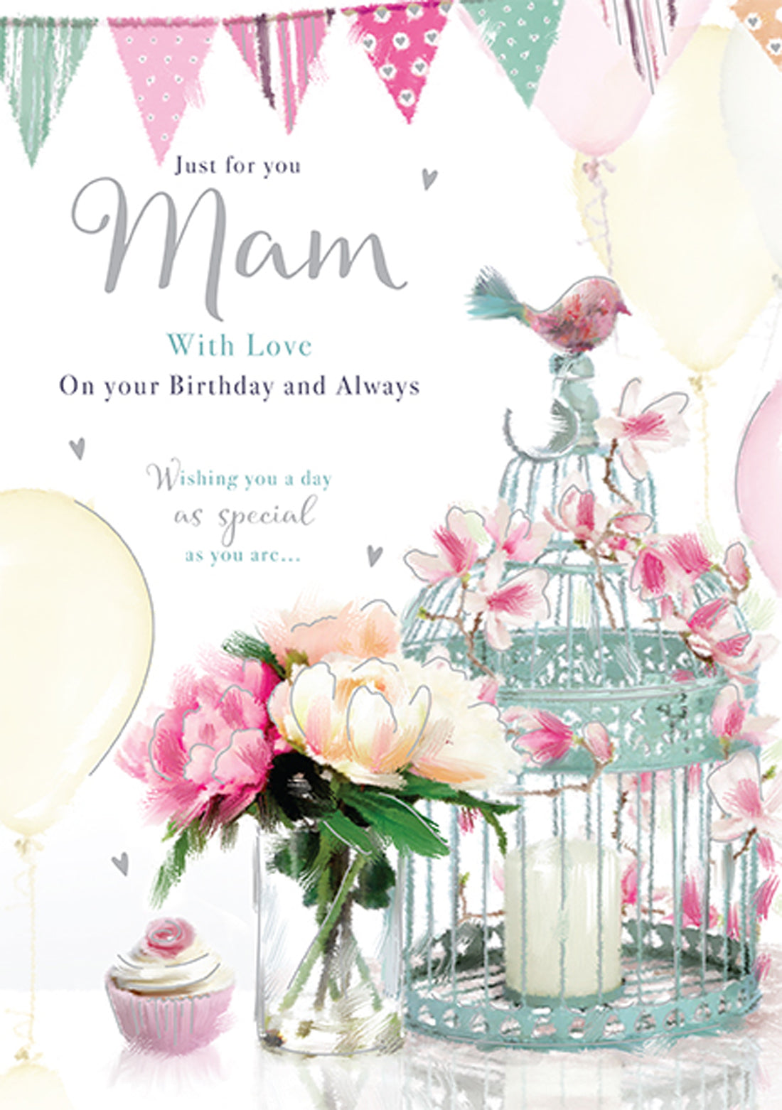 Mam Birthday Card - Words and Wishes