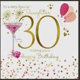 30th Daughter Card