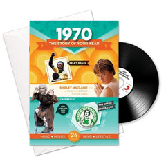 1970 Booklet CD Card
