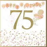 75th Birthday Card For Her