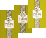 Pack of 3 Apple Spice & Cinnamon Sachets