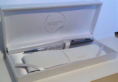 Silver Maranda-Ti Swarovski Decorated Ball Pen Gift