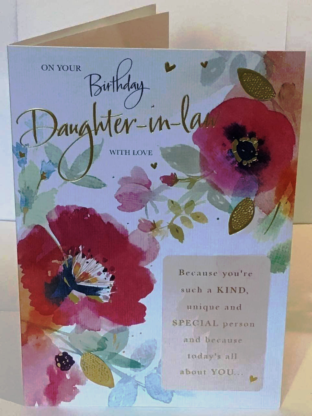 Daughter-in-Law Birthday Card