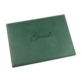 Green Soft Touch Gustes Record Book - EL313 - HerbysGifts.com