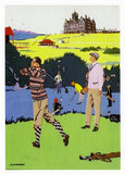 Golf Birthday Card For Him