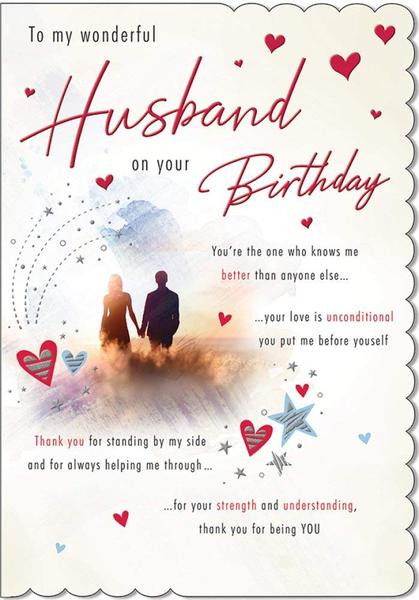 Husband Birthday Card by Piccadilly