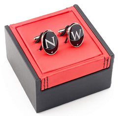 Mens Cufflinks With Swarovski Crystal