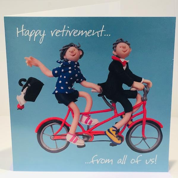 Retirement Card - Holy Mackerel