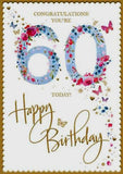 60th Card For Her