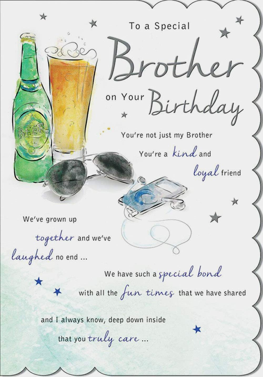 Brother Birthday Card - Regal Publishing