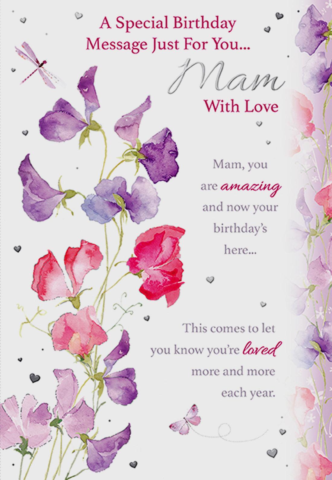 Mam Birthday Card
