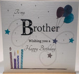 Brother Birthday Card - Rush Design