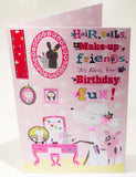 10th Birthday Card for a Girl - HerbysGifts.com