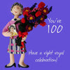 100th Birthday Card Woman - HerbysGifts.com