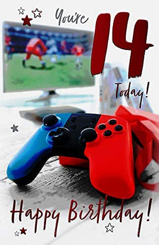 14th Birthday Card Boy - HerbysGifts.com