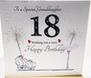 18th Birthday Card Special Granddaughter - HerbysGifts.com